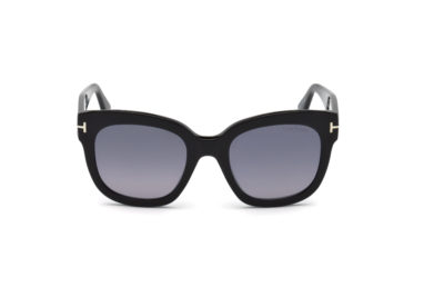 FT0613-Shiny-black-front-Hultins-Optik
