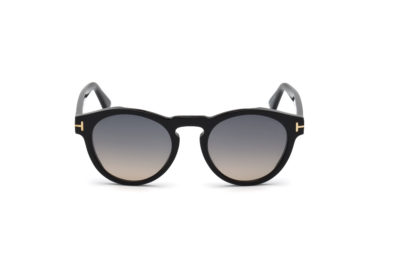 FT0615-Shiny-black-front-Hultins-Optik