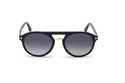 FT0675-Shiny-Black-front-Hultins-Optik