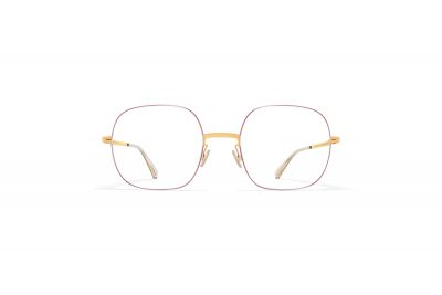 mykita-lessrim-rx-momo-gold-coral-red-front