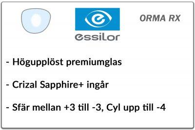 Essilor Orma 1,5 RX