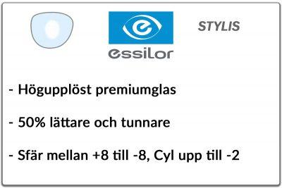 Essilor Stylis 1,67