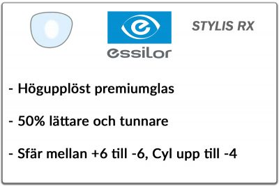Essilor Stylis 1,67 RX