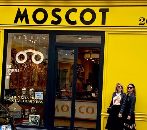Moscot i Paris