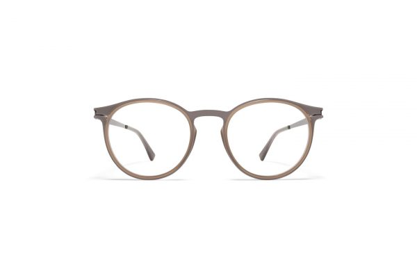mykita-dd-rx-dd2-3-a13-shiny-graphite-taupe-clear_Front_Hultins Optik