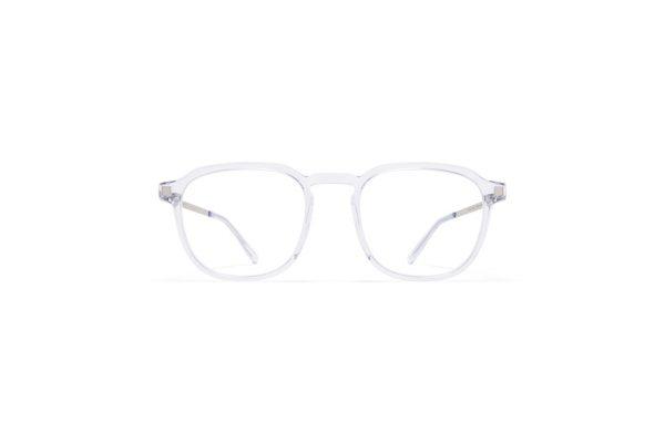 mykita-lite-acetate-rx-pal-c72-limpid-shiny-silver-clear-front_Hultins Optik