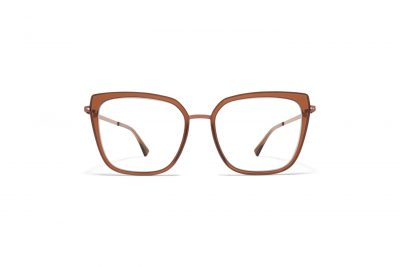 mykita-lite-acetate-rx-sanna-a40-shiny-copper-topaz-clear-front_Hultins Optik