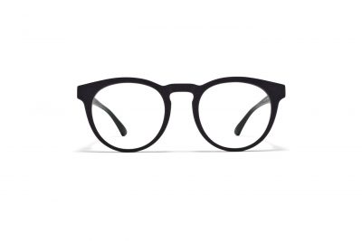 mykita-mylon-rx-pow-md1-pitch-black-front_Hultins Optik