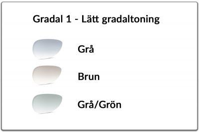Gradal 1 - Lätt toning