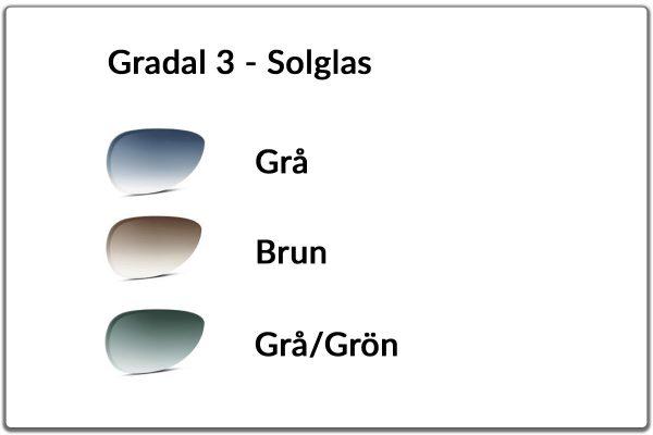 Gradal 3 - solglas