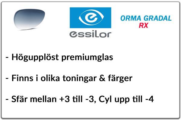 Essilor Orma RX gradal