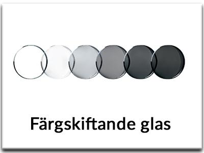 Välj Färgskiftande glas