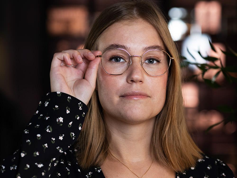 Amanda - Optiker på Södermalm